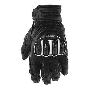 RST TRACTECH EVO CE SHORT LEATHER GLOVE [BLACK] 07